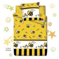 """Детское постельное белье """"Пчелы"""", рис.1103-1 (Браво Кидс), 1.5сп."""