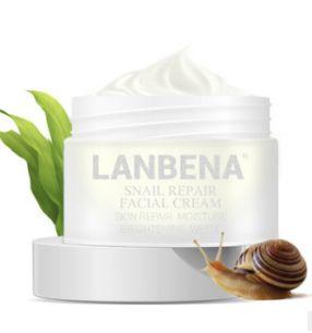 Lanbena Snail Repair Facial Cream - Восстанавливающий улиточный крем.(3817)