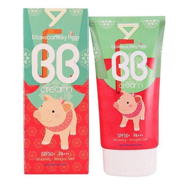 Увлажняющий BB крем для лица Elizavecca Milky Piggy BB Cream SPF50, 50 мл