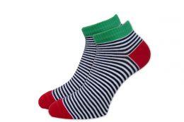 Мужские укороченные цветные носки С418К