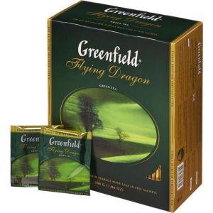 Чай Greenfield Flying Dragon зеленый 100пак