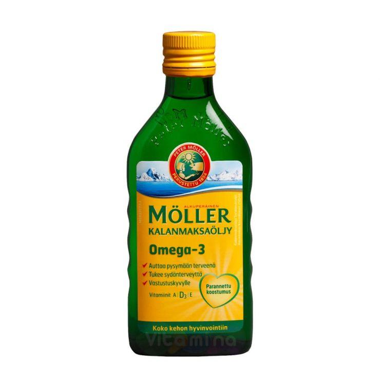 Мёллер Рыбий жир для детей, 250 мл