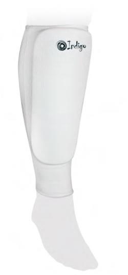 Комплект защиты голени Indigo 1118 белый