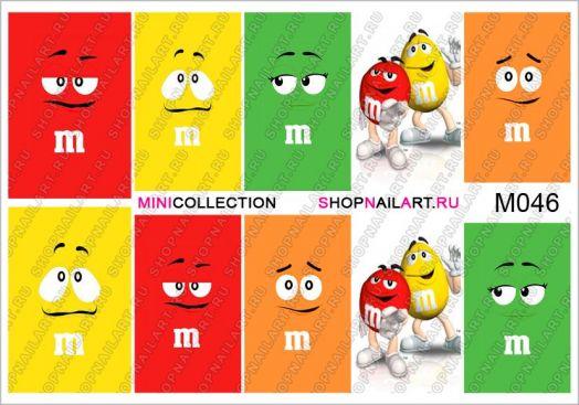 Слайдер-дизайн M046 - Герои рекламы M&M's