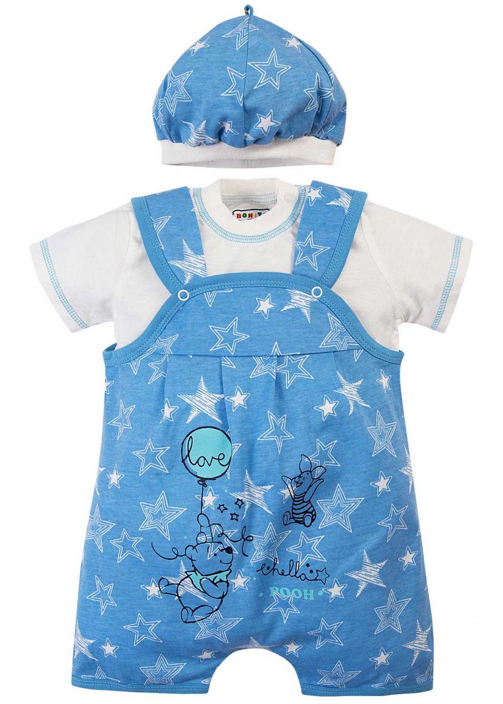 Комбинезон для новорожденных комплект Bonito Винни Пух