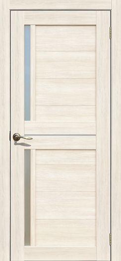 Дверь межкомнатная Каракас Ясень снежный  (Цена за комплект)