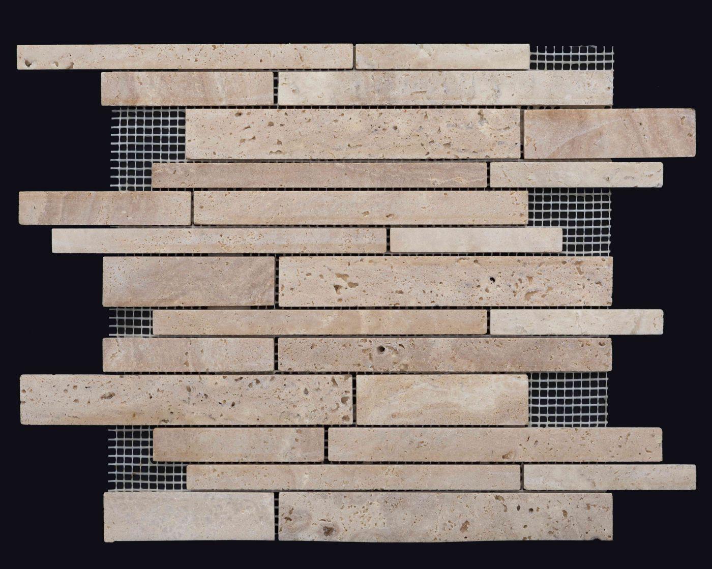 Мозаика из травертина ART. MZ116