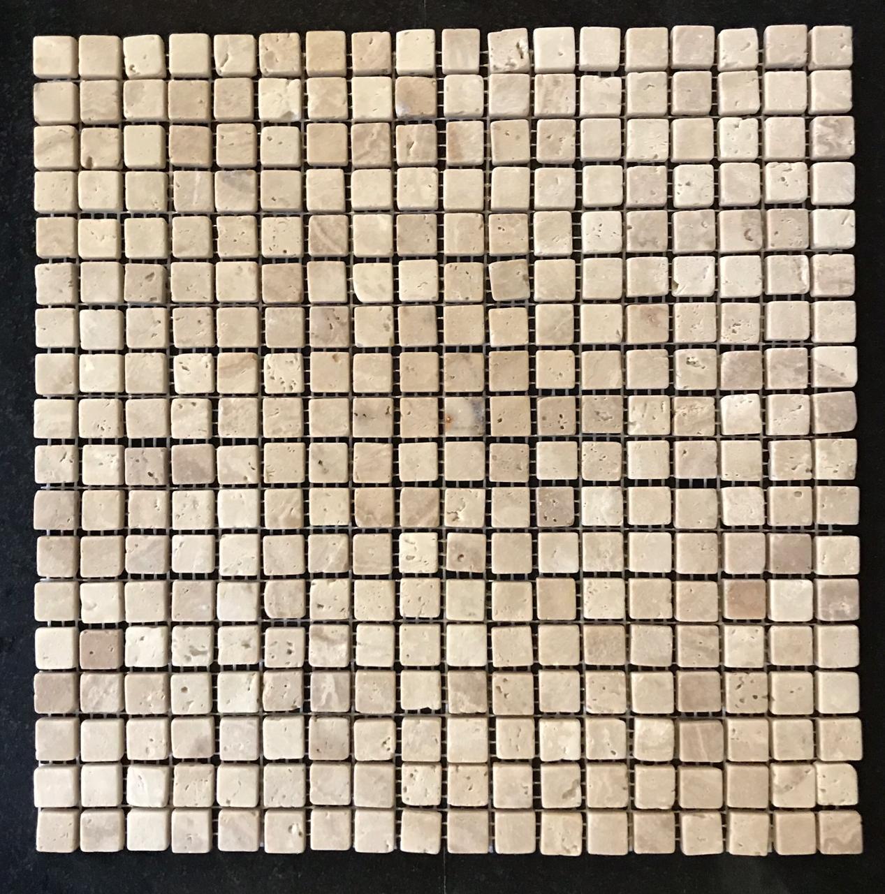 Мозаика из травертина ART. MZ094