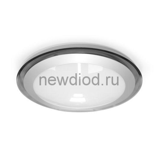 Накладной светодиодный светильник ALR-25 AC170-265V 25W d430*H90мм Серый (Холодный белый) 2400lm