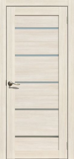 Дверь межкомнатная Токио Ясень снежный   (Цена за комплект)