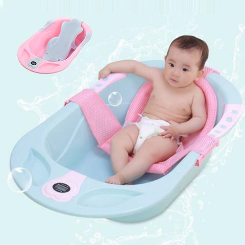 Ванночка для новорожденных с термометром и дисплеем