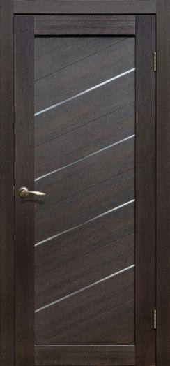 Дверь межкомнатная Мадрид Дуб мокко   (Цена за комплект)