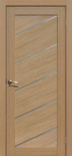 Дверь межкомнатная Мадрид Тиковое дерево   (Цена за комплект)