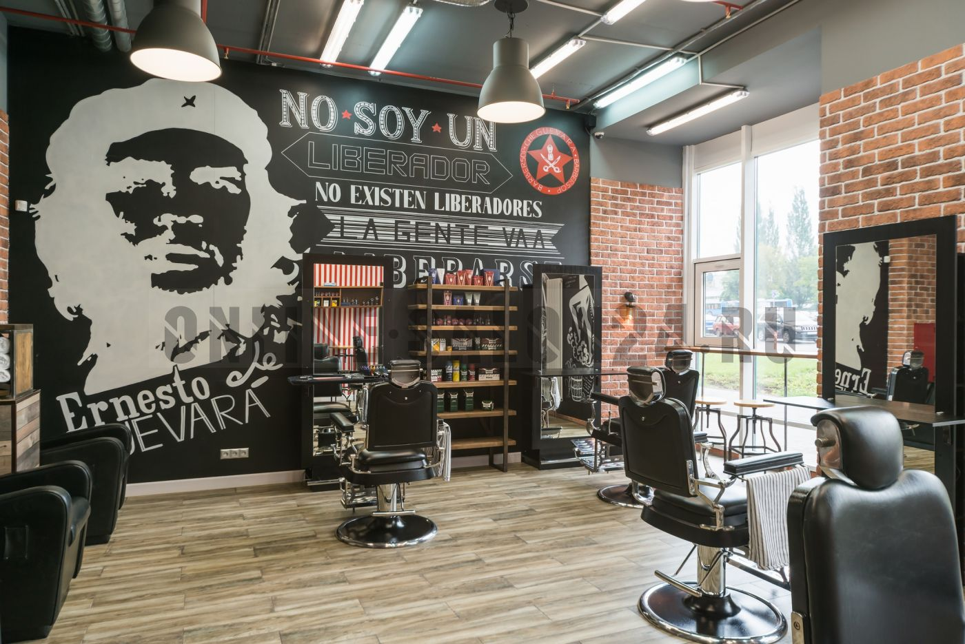 Дизайн проект Барбершопа Che Guevara