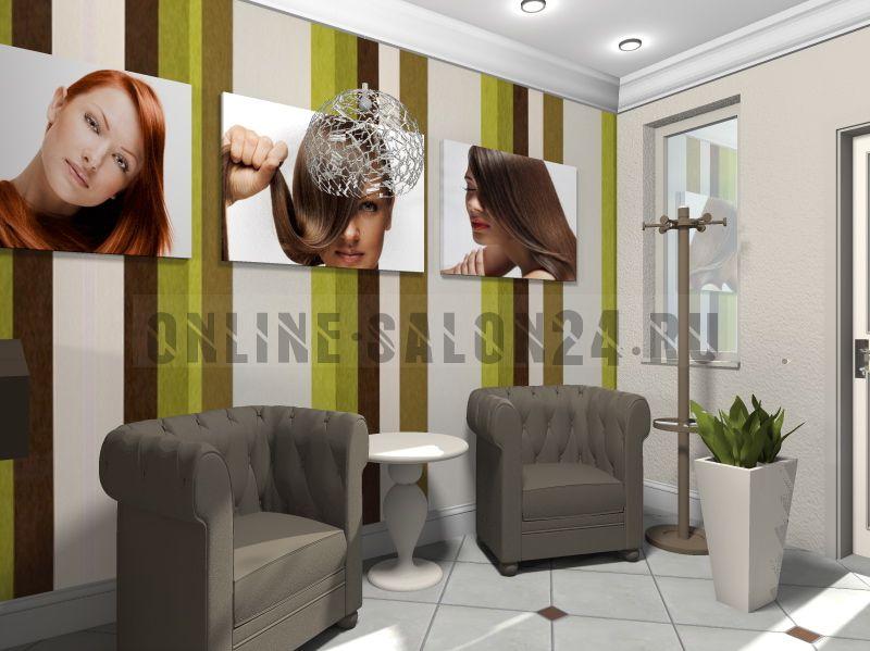 """Дизайн проект Салон красоты """"IN MODO"""""""