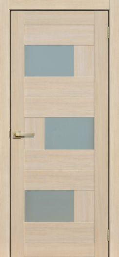 Дверь межкомнатная Прага Ясень латте  (Цена за комплект)