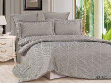 Комплект постельного белья Сатин-жаккард  Royal  евро  Арт.31/012-RG