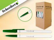 Ручка шариковая,0,7 мм, цвет чернил - ЗЕЛЕНЫЙ (Россия) (арт. S 0076)