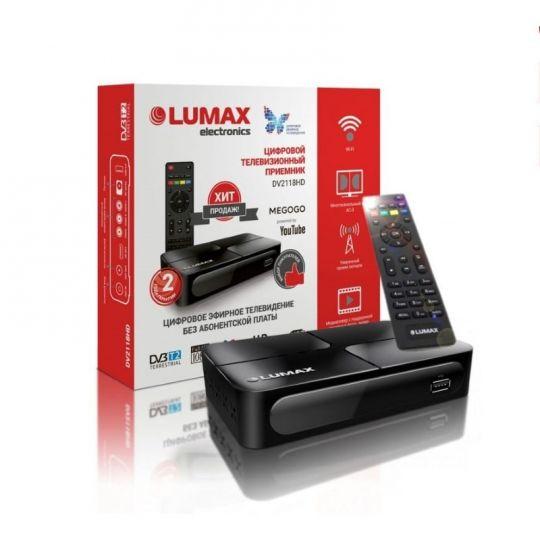 DVB-T2 ресивер LUMAX DV2118HD