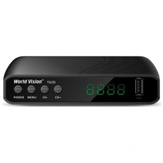 DVB-T2 ресивер World Vision T62D
