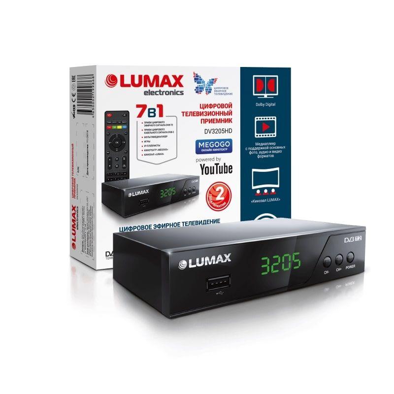 DVB-T2 ресивер LUMAX DV-3205HD