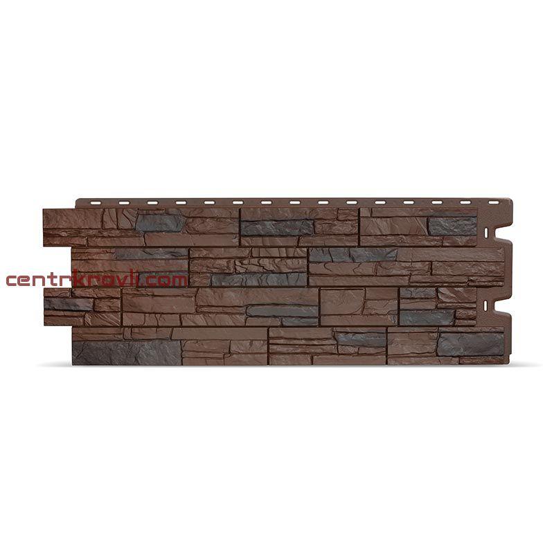 Фасадные панели STEIN (темный орех)