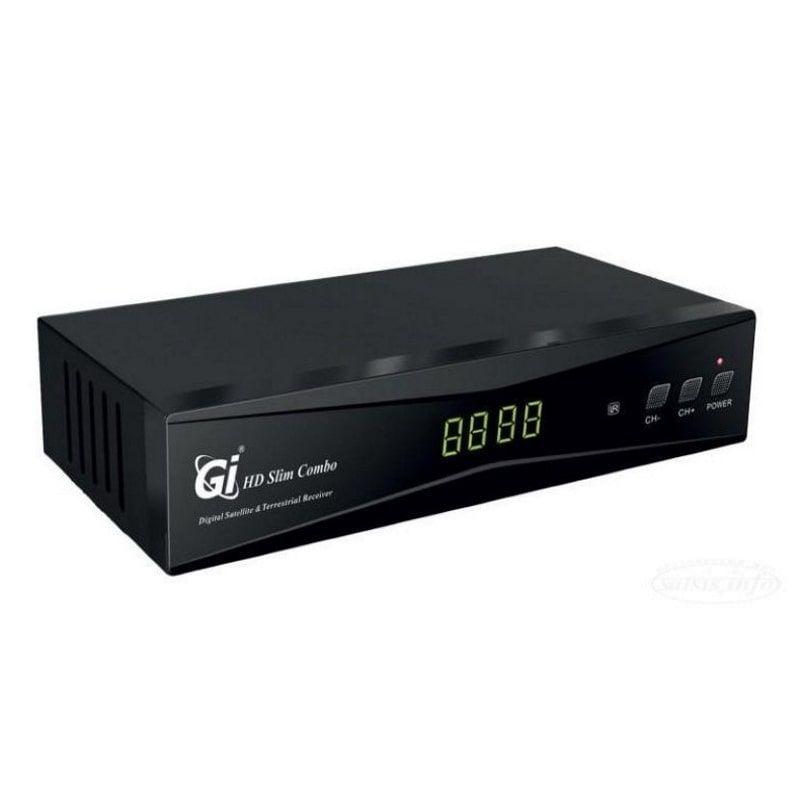 Ресивер GI HD Slim Combo, DVB-S/DVB-T/DVB-T2