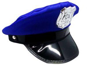 Фуражка Полицейского (синяя)