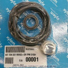 Торцевое уплотнение комплект OR, KIT TEN D22  VBVGG+OR FPM D158#, (арт. KL01AA0