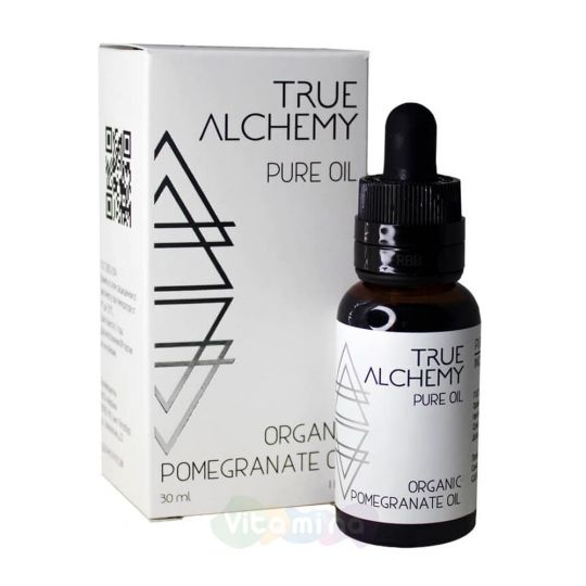 True Alchemy Масло гранатовой косточки Organic Pomegranate Oil, 30 мл