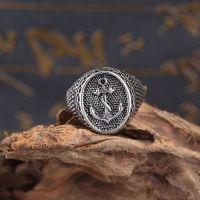Перстень Якорь