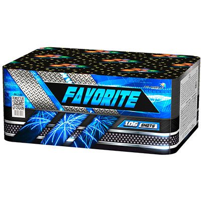 Батарея салютов FAVORITE 106 x 0,8