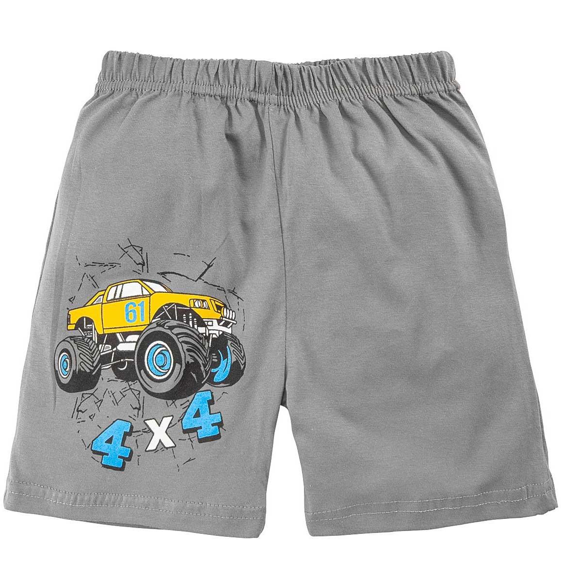 Шорты для мальчика с принтом Car 4x4