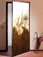 Наклейка на дверь - На закате | магазин Интерьерные наклейки