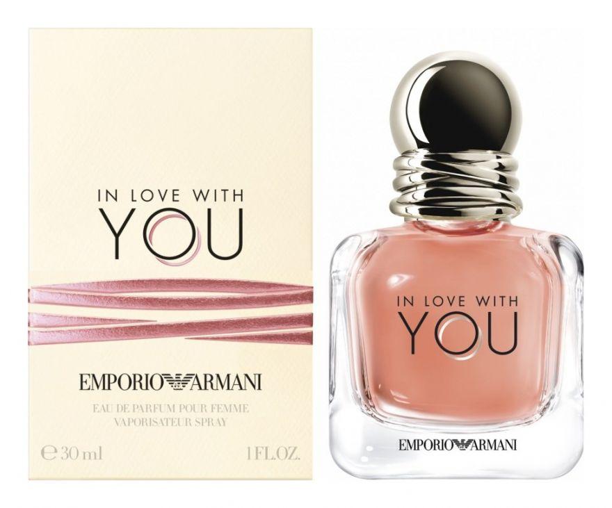 Парфюмерная вода Giorgio Armani In Love With You 100ml