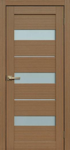 Дверь межкомнатная Сиера Тиковое дерево 3D  (Цена за комплект)