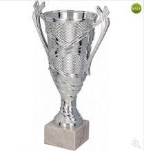 Кубок наградной серебро 21 см
