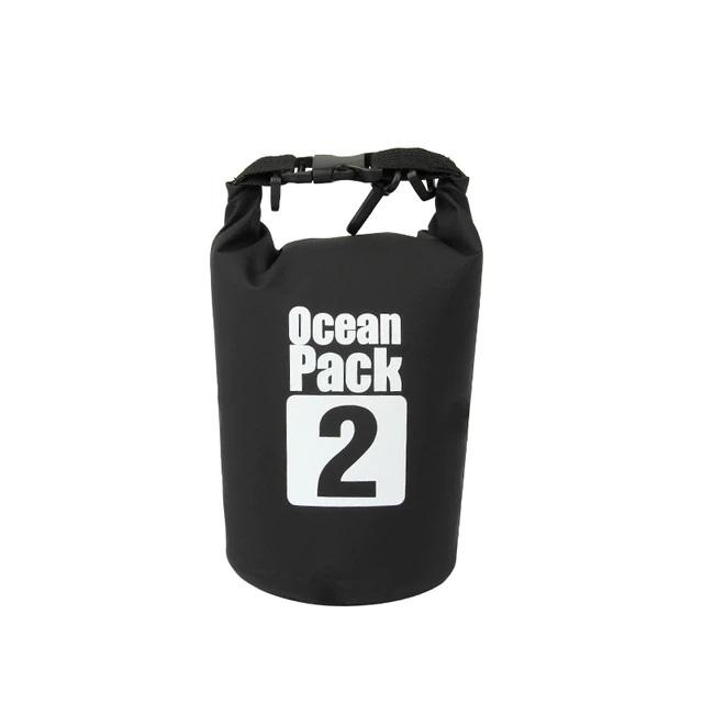 Водонепроницаемая сумка-мешок Ocean Pack, 2 L, цвет черный