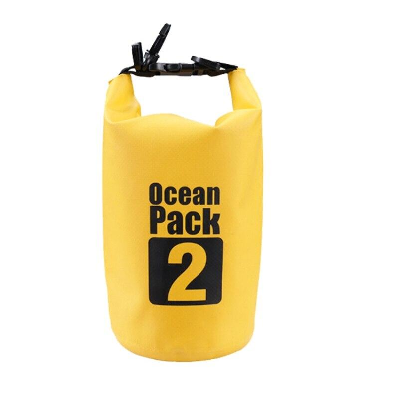 Водонепроницаемая Сумка-Мешок Ocean Pack, 2 L, Цвет Желтый