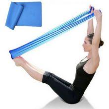 Лента для йоги и пилатеса Yoga Belt, Цвет: Синий