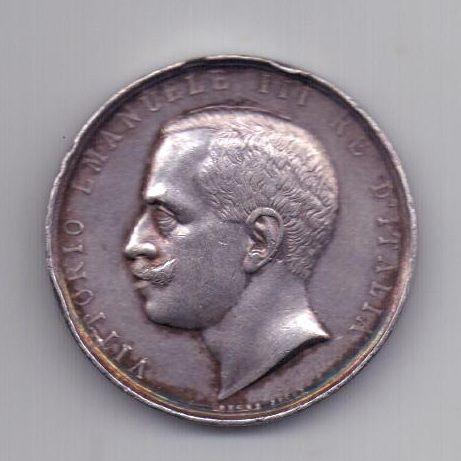 медаль 1900 года Италия