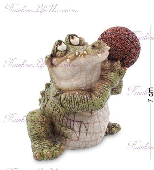 """Фигурка крокодил баскетболист """"Sealmark"""""""
