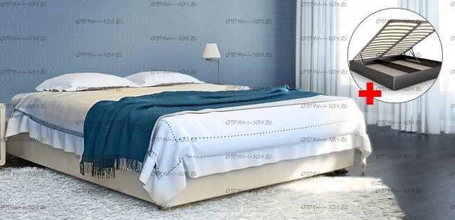 Кровать с подъемным механизмом Аврора Perrino 2.0 промо