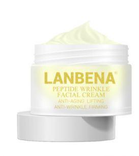 Lanbena - Крем для лица 6 пептидов  для омоложения и лифтинга кожи.(3824)