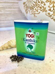 """Гранулы от боли в горле и для свежего дыхания """"Йоги Кантика"""", 140 гранул (Yogi Kanthika)"""