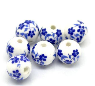 Бусины керамические