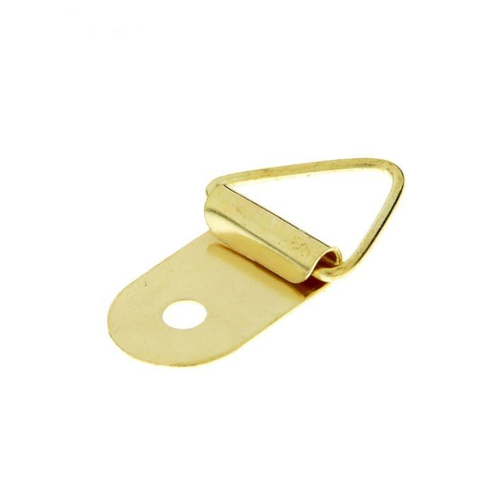 Подвесы для картин треугольные, цвет золото, 4 шт/упак