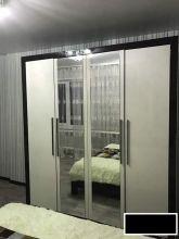 Шкаф МАРТЕЛЬ для одежды с зеркалом 4-дверный