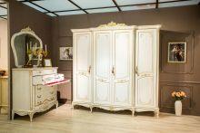 Шкаф БАРОККО для одежды 4-дверный пленка