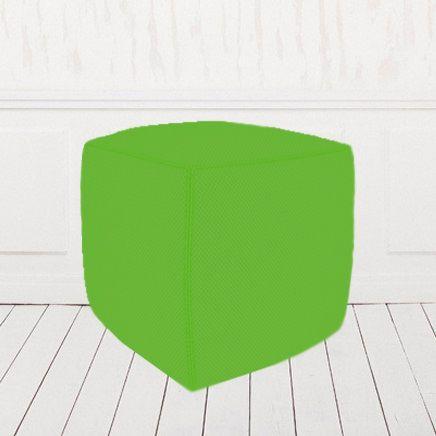 Пуфик-кубик зеленый